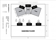 STAGE PLOT TOP DANCE